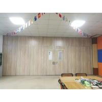 China Meeting Room Sliding Soundproof Partition Wall Aluminum Alloy Profile on sale