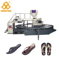 Quality Automatic Slipper Chappal Making Machine , Flip Flop Making Machine For Men Shoes for sale