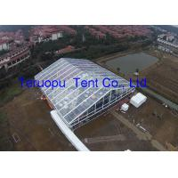 Luxury transparent tent, high quality clear cover tent 25 x 30 m for banquet for sale