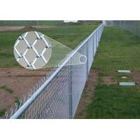 Quality Galvanized PVC coated chain link wire mesh for sale