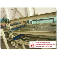 Quality Roof Sheet Forming Machine , Mgo Hollow Sandwich Wall Panel Manufacturing Equipment for sale