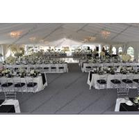 Decorations Outdoor Luxury Wedding Event Tents , Large Wedding Tent For Parties for sale