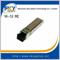 China 10Gb/s SFP+ Module 1470nm~1610nm 10G CWDM SFP 80km Transceiver for sale