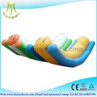 Quality Hansel Double Lanes Adult Inflatable Totter For Sale ,inflatable Water Seesaw for sale