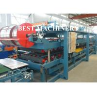 Quality Wall EPS / PU Sandwich Panel Production Line Precast  Auto Cutting for sale