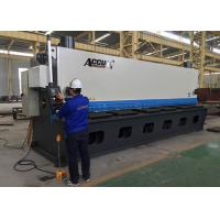 Buy 18.5KW Guillotine Metal Cutting Machine With Germany ELGO P40 NC Control System at wholesale prices