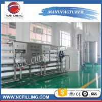 Quality Large Scales Water Treatment Systems Filling Line Mineral Water Purification for sale