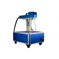 Quality Small Size 1.2mm Depth Fiber Laser Marking Machine for sale