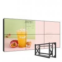 "Quality Wall Mounted Ultra Narrow Bezel Video Wall , 49"" Seamless Led Video Wall for sale"