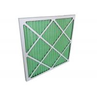 Quality Low Resistance Pleated Panel Air Conditioner Air Filters HVAC For Primary Filtration for sale