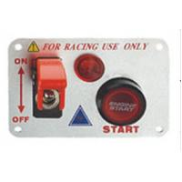 Quality 12 Volt Power Speediness Racing Car Switch Panel With Red Indicator Light for sale
