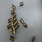 Quality Customizable Graphite Bushings , Brass Inlaid Self Lubricating Sleeve Bearings for sale