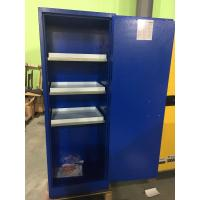 Quality Grounding Corrosive Safety Cabinets , Acid Storage Containers 22 GAL Lockable for sale