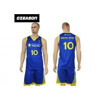 Quality Wholesale Latest Shirt Custom Logo Designs Basketball Uniforms For Team for sale