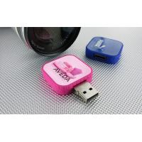 Quality TRIX Square Twister Customized USB Flash Drive / Pendrive with 32G, 16G Memory (MY-U231) for sale