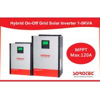 China Hybrid On / off grid solar inverter 2kva 2000w with 80A MPPT Controller on sale