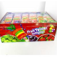 Quality Colorful Multi Fruit Flavor Twist Lollipop Sweet And Healthy with Fluorescent sticks for sale