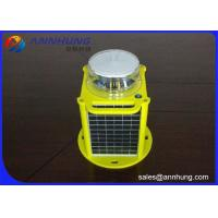 Quality Aircraft Warning Solar Aviation Obstruction Light Medium Intensity Type For High Tower Or Building for sale