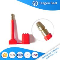 TX-BS303 China mechanical seal anti-rotating barcode red/yellow/white bolt seal for sale
