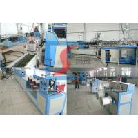 Single Screw Or Twin Screw Plastic Extrusion Line , PP Strap Band Making Machines