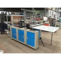 Quality Eco Friendly Plastic Bag Manufacturing Machine , High Speed Bag Making Machine Semi Automatic for sale