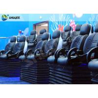 Quality Blue Marine Theme 5d Cinema Theater With Kids Animation And 5D Motion Chairs In Marine Park for sale