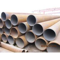 Quality Hot Rolled Erw Stainless Steel Welded Pipes Beveled , Cut Square Anti Corrosion for sale
