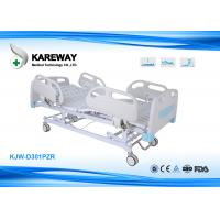 Quality Three Functions Electric Care Hospital Bed Cold Steel Plate Central Locking for sale