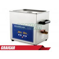 Quality Digital Ultrasonic Cleaners Ultrasonic Cleaning Equipment 10L 240W PS-40A for Home / Commercial for sale