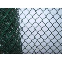 Quality School Plastic PVC Coated Chain Link Fence for sale