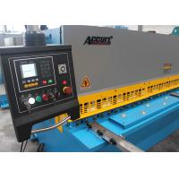 Quality CNC Control Hydraulic Shearing Machine Low Tolerance CE ISO Certification for sale
