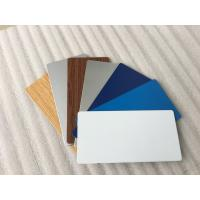 Buy Glossy White / Black Aluminum Composite Material With High Impact Resistance at wholesale prices