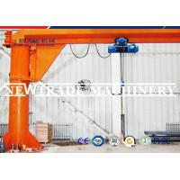 Quality 5t Pillar Mounted Jib Crane with 360 Degree Slewing And Controlled Via Pendent for sale