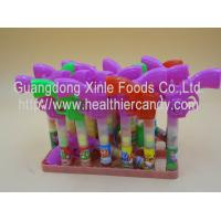 Quality Multi Color Gun Toy Candies / Tablet Candy With Sugar Particle Texture for sale
