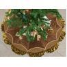 Buy cheap Customized Modern Christmas Tree Skirt , Polyester / Velvet Christmas Tree Skirts from wholesalers