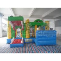 Quality Frog Inflatable Combo Slide for sale