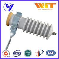 51KV Power Station Porcelain Substation Surge Lightning Arrester High Reliability