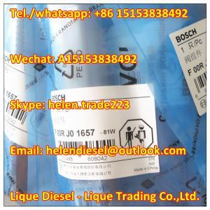 Quality Bosch Original  Injector Valve F 00R J01 657 ,F00RJ01657  Fit 0 0445120078, 0445120124, 0445120247,0445120262,0445120263 for sale