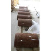 G562 Granite Column Crown Red Granite Roman Columns China Capao Bonito Granite Columns for sale