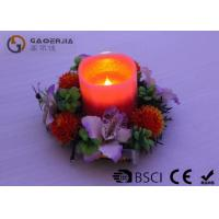 Quality Customized Decorative Led Candles With Moving Wick Portable DL-011 for sale
