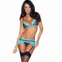 Quality Blue Lagoon Sexy Underwear Set, Includes G-string for sale