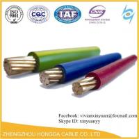 Quality 600V 90℃/75℃ Dry or Wet PVC Insulated and Nylon Jacketed THHN / THWN / THWN-2 electrical cable for sale
