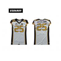 Quality Sublimated Youth Football Jerseys , Logo Custom College Football Jerseys for sale