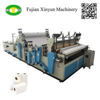 Quality Full automatic rewinding kitchen towel paper making machine price for sale