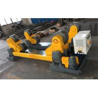 Quality Self-Aligned Welding Rotator One Drive And One Idler , 400 x 160 mm PU rollers for sale