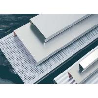 Quality C Shaped Linear Metal Strip Ceiling , Metal Strip Ceiling for sale