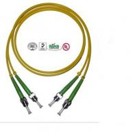 Quality 2 Core ST Fiber Optic Cable , PVC LSZH Cable For Data Transmission for sale