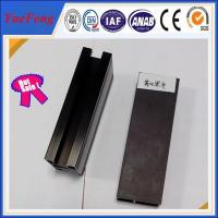 Quality Great!!6063-t5 aluminum alloy products black anodized aluminum extrusion in china for sale