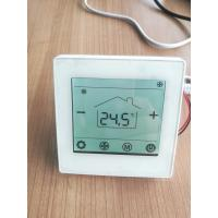 Low Power Consumption Bacnet Thermostat Smart Wired Controller For Water Fan Coil Units for sale