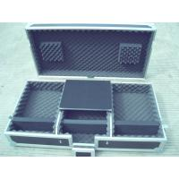 Quality Flight Case, Material is of Aluminum With Good Wood, Black Color For Audio And Light, Wood Color Can Be Requested for sale